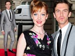 Downton star Dan Stevens looks slimmer than ever at Summer In February premiere... after admitting he's lost over 2st