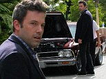 Ben Affleck's classic car conks out as he attempts to make getaway from poker tournament