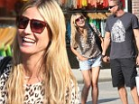 No faking it: Heidi Klum and Martin Kirsten are a serious item
