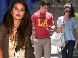 Selena Gomez has sushi date with her hunky Wizards of Waverly Place co-star following girls' night out at Chateau Marmont
