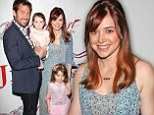 Alyson Hannigan and husband Alexis Denisof bring their sweet girls to Candy-Land themed benefit