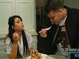 But his binging took centre stage on Sunday night's Keeping Up With The Kardashians as his sister Kim decided to tackle his food addiction head on.