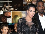 Kim Kardashian created a photo collage of her favourite magical moments with Kanye West on Saturday in honour of his 36th birthday
