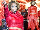 Ciara served with legal papers DURING performance...but tosses them back into the audience