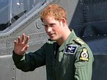 Prince Harry has been wowing the crowds as part of an Army attack helicopter display team