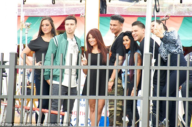 Reunited! The cast of MTV's Jersey Shore came together again for an appearance on The Today Show on Friday... nothing appeared to have changed as the clan were all smiles and full of poses