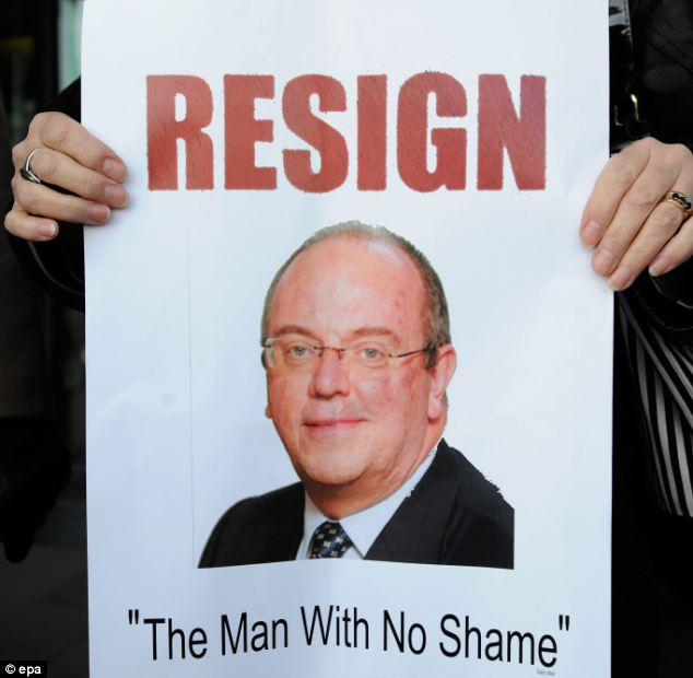 Campaigners had repeatedly called for Sir David Nicholson to resign over the Mid Staffordshire NHS scandal