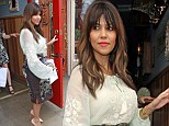 Going East: Kourtney Kardashian nods to Chinese style as she steps out in chic blouse and pencil skirt