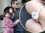 Jennifer Love Hewitt and her fiance Brian Hallisay in Florence, Italy