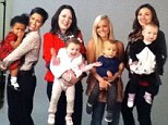 Class photo: 16 And Pregnant's latest alumni are set to appear in a new series of Teen Mom