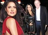'My husband loves it': Salma Hayek, 47, admits she wears leather to impress French hubby Francois-Henri Pinault