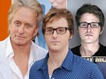Time for change: Michael Douglas' jailed son Cameron Douglas has penned an open letter from jail asking for drug addicts to be treated differently