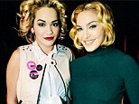 It's official! Rita Ora has announced that she is 'joining forces with Madonna & Lola' to become the new face of their Material Girl clothing line