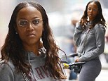 Off duty: America's Next Top Model host Tyra Banks was spotted in New York last week