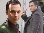 Different role: The Big Ban Theory's Jim Parsons will play a gay activist in his new movie The Normal Heart