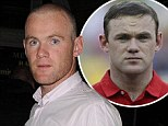 Wayne Rooney shows off the results of second hair transplant as he and Coleen enjoy a date night at Rihanna concert