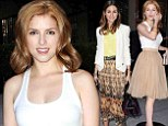 Anna Kendrick is a classic beauty in flouncy skirt while Olivia Palermo opts for boho style at fashion bash