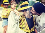 The Richie Life! Nicole Richie shows off playful family love with cute Instagram snaps with her father, Lionel Richie and younger sister, Sofia