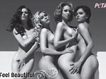 Former Miss USA winners pose naked in provocative new PETA anti-fur campaign