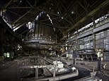 Gathering rust: The derelict blast furnace of the Carrie Furnaces in Rankin, Pennsylvania, which have been left abandoned since they were shut down in 1982