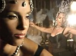 Alicia Keys is a glamorous showgirl in new music video for Tears Always Win...as she croons about missing her love