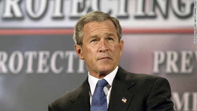<a href='http://www.nytimes.com/2005/12/16/politics/16program.html' target='_blank'>The New York Times reported in 2005</a> that in the months after the September 11, 2001, attacks, President George W. Bush authorized the U.S. National Security Agency to eavesdrop without a court warrant on people in the United States, including American citizens, suspected of communicating with al Qaeda members overseas. The Bush administration staunchly defended the controversial surveillance program. Russ Tice, an NSA insider, came forward as one of the anonymous sources used by the Times. He said he was concerned about alleged abuses and a lack of oversight. Here, President Bush participates in a conversation about the Patriot Act in Buffalo, New York, in April 2004.