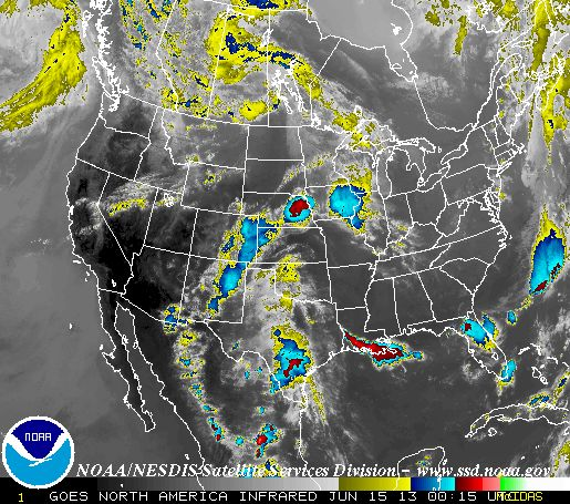 Infrared Satellite Image