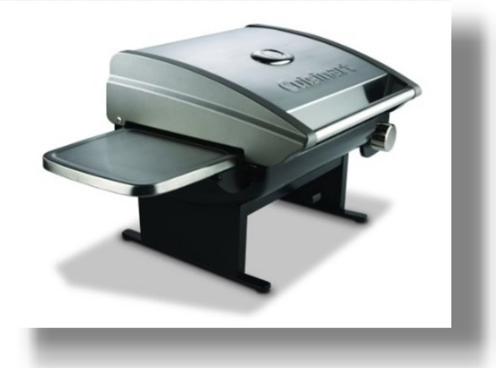 cuisinart cgg 200 all foods tabletop propane gas grill