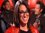 Pride before the fall? The Voice judge Usher dubs Michelle Chamuel 'the winner'... but Blake Shelton's acts also impress in final
