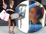 Naughty! Irina Shayk was seen scoping out the lingerie at Agent Provocateur in NYC's SoHo neighborhood on Monday