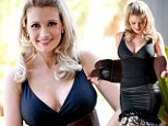 New mother Holly Madison reveals she is regaining figure with $80 compression belt