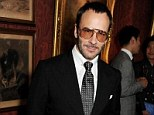 Men's market: Following the success of his luxury women¿s cosmetics line,Tom Ford is launching a make-up and grooming line solely for men