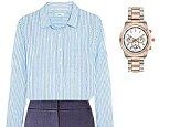 Femail shows you how to style a striped shirt, four ways