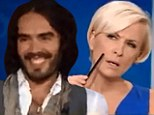 You can't kid a kidder! Russell Brand runs rings around MSNBC hosts for trying to make lame jokes at his expense