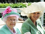 A Royal style snap! Queen and Camilla once again collude over colour on day two of Ascot races