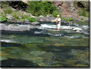 Fishing on the North Yuba