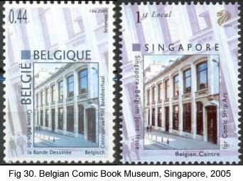 Belgian Comic Book Museum, Belgium, Singapore, 2005
