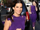 Sandra Bullock stars in The Heat with Melissa McCarthy and attended the premiere in Boston on Thursday
