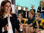 Look, Daddy, I CAN earn my keep! Princess Beatrice skips Royal Ascot to open school