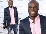 Seal in Los Angeles, California on Thursday