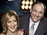 'I am shocked and devastated:' Sopranos star Edie Falco calls her on-screen marriage to James Gandolfini 'the greatest love story'