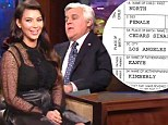 Remember this? Kim Kardashian LAUGHED AT North West name on Jay Leno months before signing ink on birth certificate