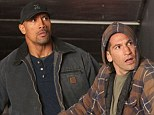 Justice: Dwayne Johnson (left) stars in Snitch a action movie that also tells the story of the way the U.S. penal system treats first-time drug offenders