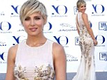 Gorgeous mom: Elsa Pataky looked stunning on Thursday on the red carpet of the Yo Dona International Awards in Madrid, Spain