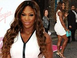 Looking ace! Serena Williams dazzles in tennis-inspired white outfit at pre-Wimbledon party