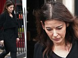 It is not known if she has separated from Saatchi permanently, but crucially she was seen at 10am yesterday without her gold wedding band on.