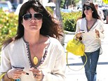 Lust Management? Selma Blair looks chic and carefree following rumors that she never complained to producers about Charlie Sheen... and that her dismissal stems back to his 'lust' for her