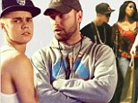 Mystery woman: Justin Bieber was spotted with a mystery woman among his entourage during a shopping trip on Thursday in Miami Beach, Florida as reports surfaced that his manager Scooter Braun wants the pop star to enter rehab