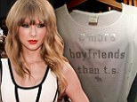 Taylor Swift boyfriend T shirt