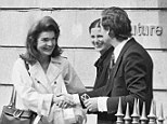 Designer of a bygone era: French designer Jean-Louis Scherrer, a couturier to Jackie Kennedy (pictured here in Paris) and Sophia Loren at the height of his career, has died at age 78